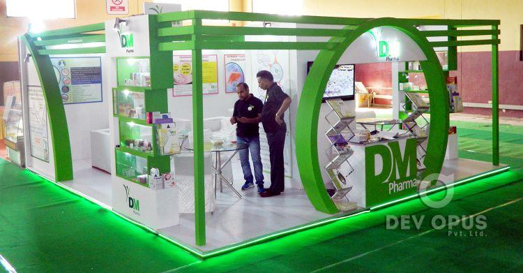 Exhibition Stall for DM Pharma in Being Healthy Expo 2016-6