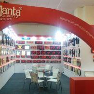 exhibition stall design for Ajanta clock in  2016