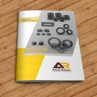 Ashok Rubber Brochure design