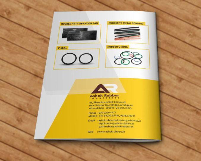Ashok Rubber Brochure design 2