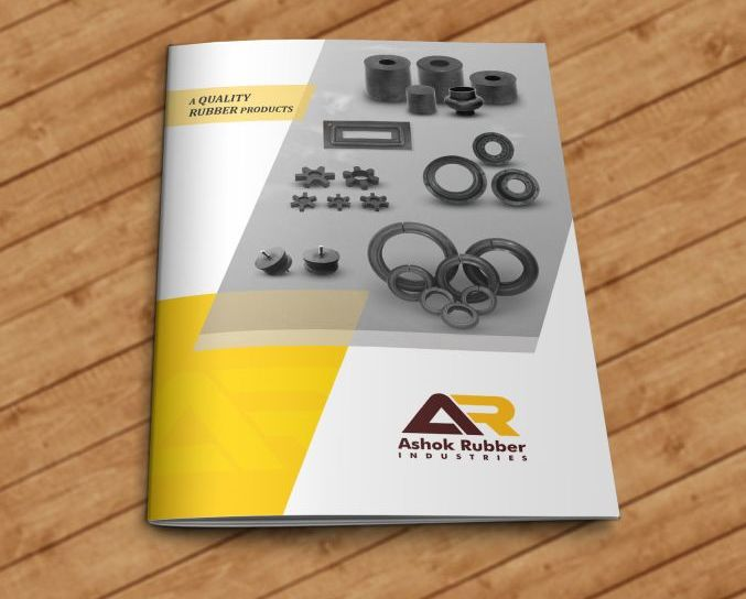 Ashok Rubber Brochure design