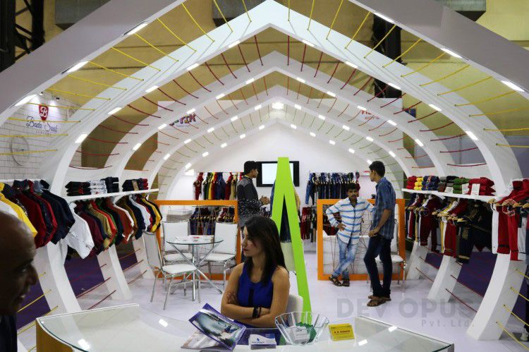 Insta Exhibition Stall Pvt Ltd : Garment and clothing exhibition stall design archives