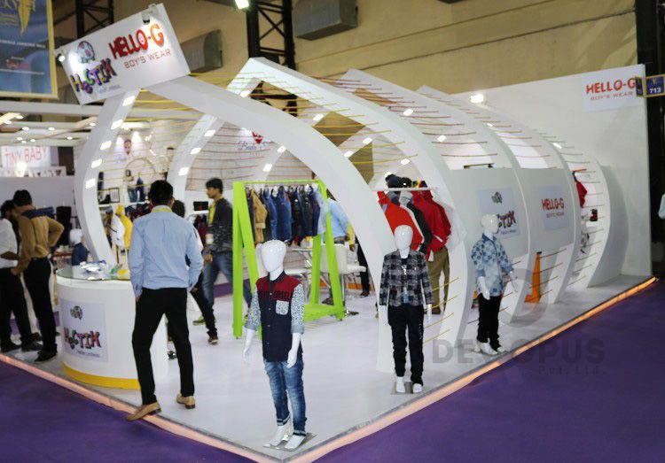 Exhibition Stall Design Company In Ahmedabad : Garment and clothing exhibition stall design archives