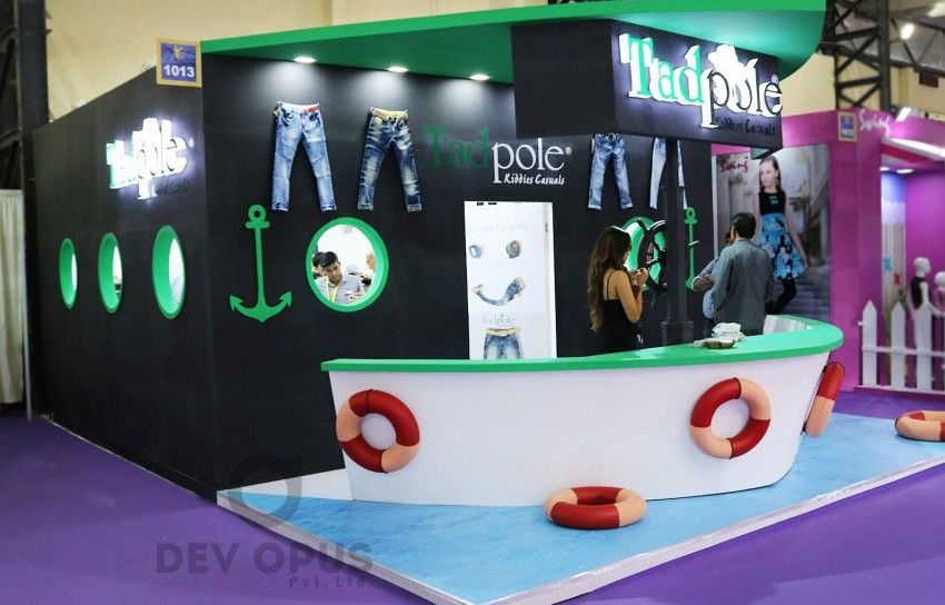 Tadpole exhibition stall design CMAI 2016-1