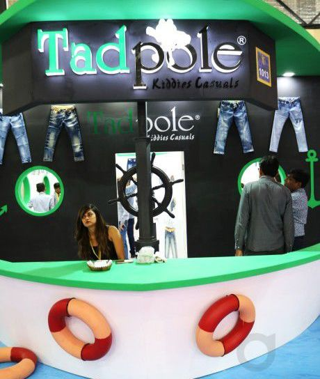 Tadpole exhibition stall design CMAI 2016-2