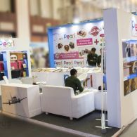 exhibition stall design for Pearl All india Photo video fair YMCA - 1