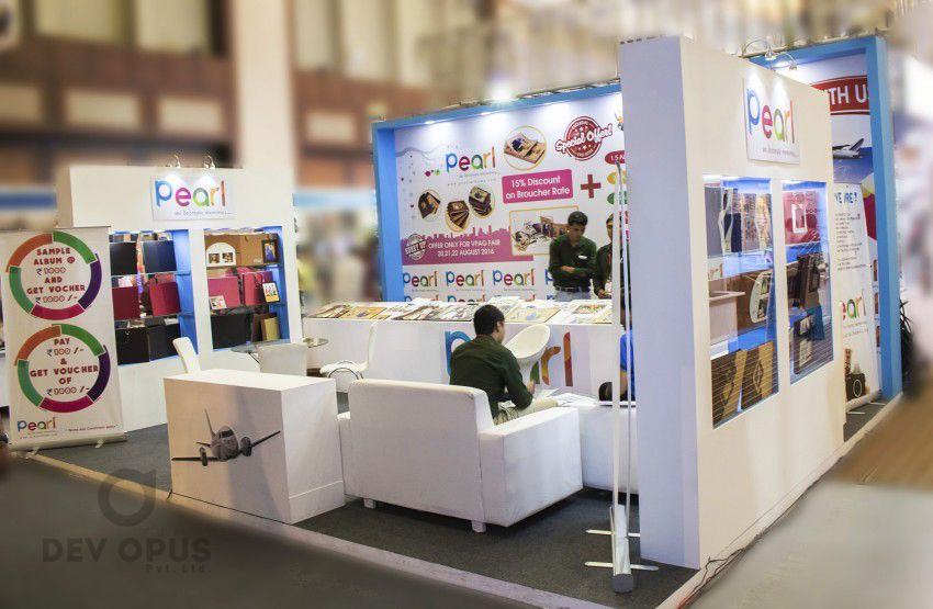 Exhibition Stall Fabricators In Ahmedabad : Exhibition stall design for pearl all india photo video