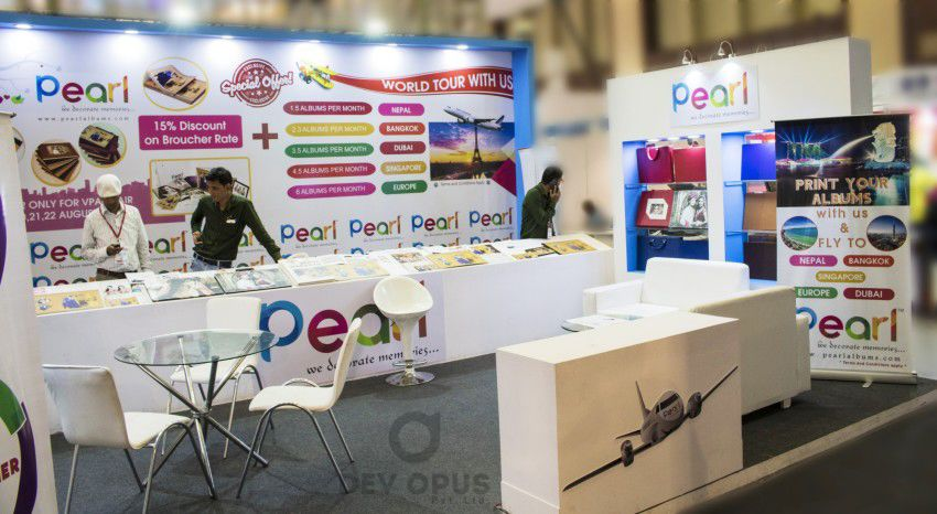 exhibition stall design for Pearl All india Photo video fair YMCA - 4