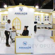 exhibition stall design for awaacs CMAI 2016-1