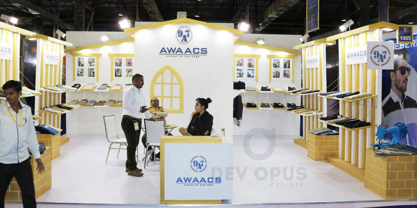 Exhibition Stall Designer Job : Exhibition stall design for awaacs in cmai mumbai exhibition stall
