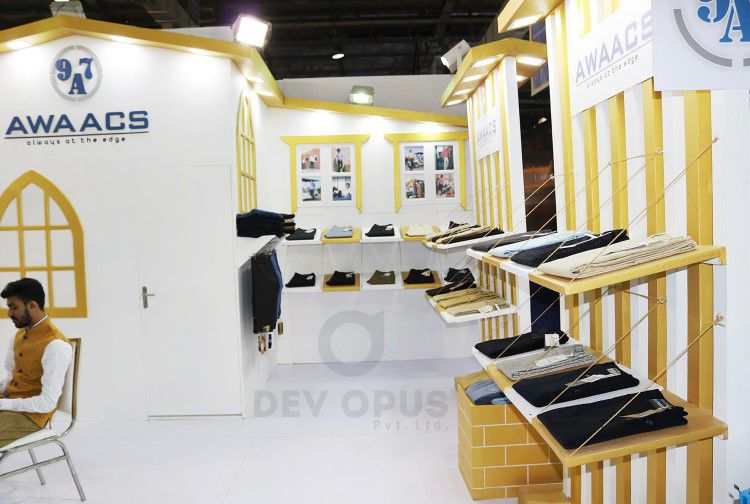 Exhibition Stall Fabricators In Ahmedabad : Garment and clothing exhibition stall design archives