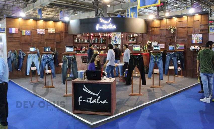 exhibition stall design for f-italia CMAI 2016-7