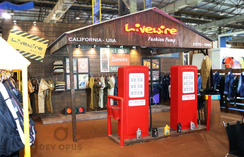 Exhibition Stall Styles : Exhibition stall design for livewire cmai