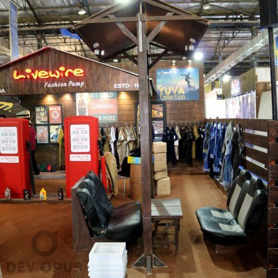 exhibition stall design for livewire CMAI 2016-6