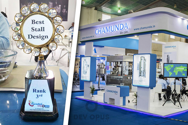 Exhibition Stall Design Ahmedabad : Winner