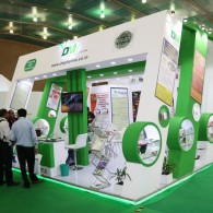 exhibition stall design for DM Pharma 2016 - 2