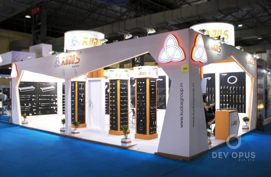 Exhibition Stall Size : Exhibition stall design for kudos exhibition stall