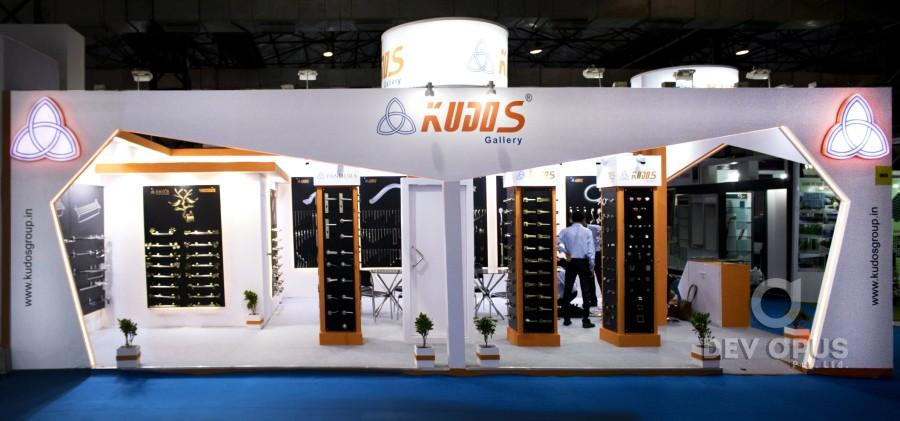 exhibition stall design for kudos 2016 - 2