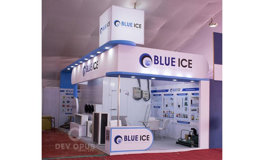 Blue Ice in Khadhya Khaurak 2017 - 1