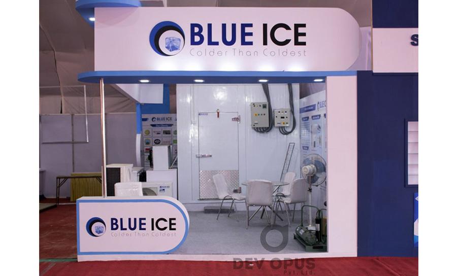 Blue Ice in Khadhya Khaurak 2017 - 2