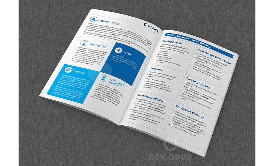 BLUE ICE brochure - 2