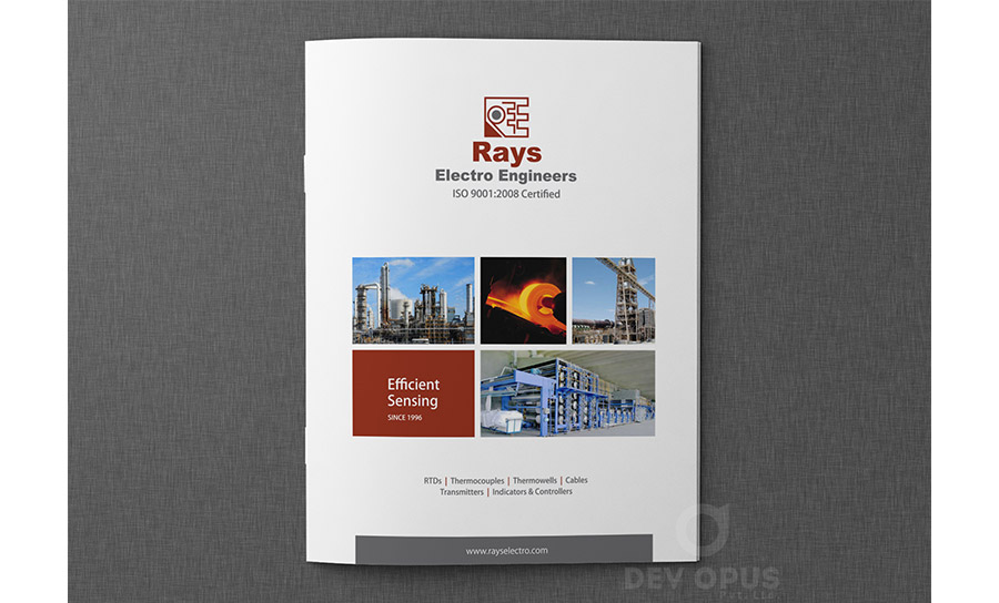 Rays Electro Engineers brochure - 1