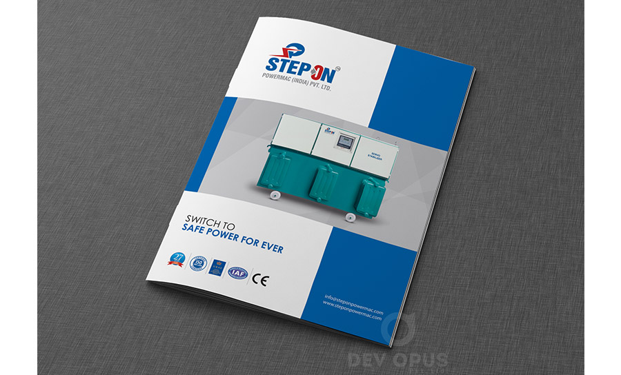 stepon powermac brochure 1 - Brochure Design Ideas