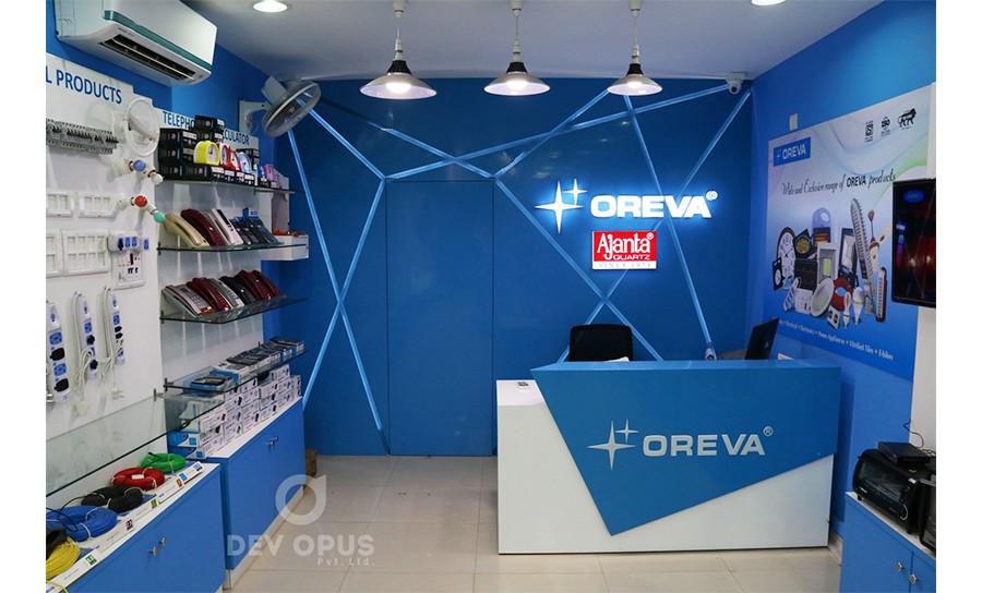 Interior design for oreva 3 for Creative interior designer ahmedabad